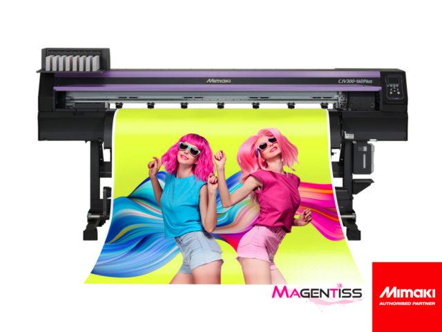 Magentiss : Imprimante numérique grand format MIMAKI CJV300-160 PLUS