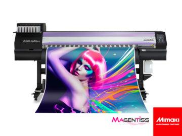 Magentiss : Imprimante numérique grand format MIMAKI JV300-160 PLUS