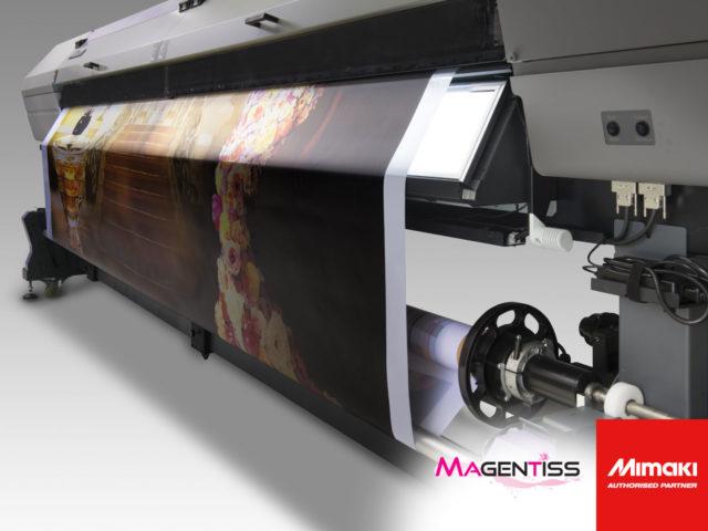 Imprimante numérique grand format UJV55-320 de MIMAKI, by MAGENTISS