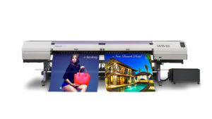 Imprimante numérique Roll & Print grand format LED UV MIMAKI UJV55-320 - Magentiss