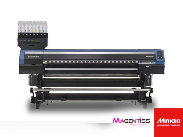 tx300p-1800 : imprimante numérique textile grand format de MIMAKI - Magentiss
