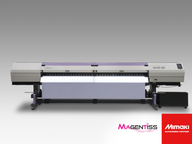 Magentiss : imprimante numérique grand format MIMAKI UJV55-320