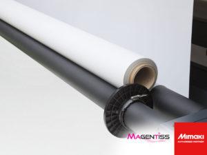 Magentiss : UJV55-320 de MIMAKI, vue sur le chargeur