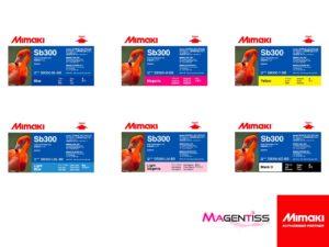 Magentiss : encre SB300 en bouteille de marque MIMAKI, contenance 2000 ml