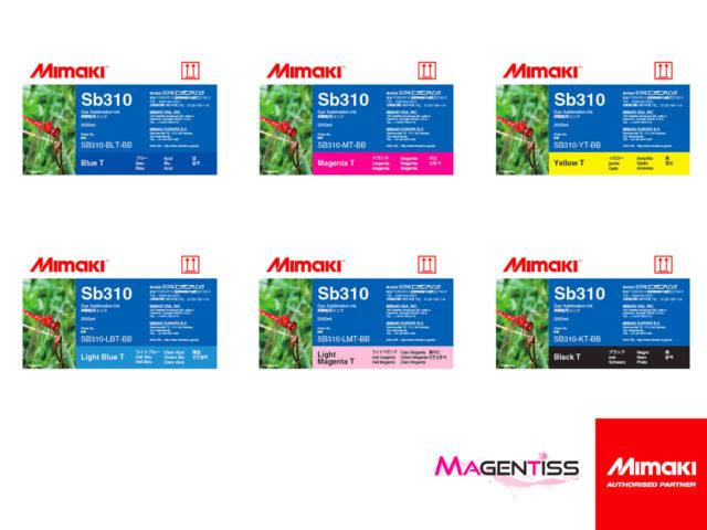 Magentiss : encre SB310 en bouteille de marque MIMAKI, contenance 2000 ml