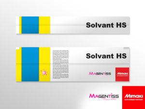 Cartouche d'encre solvant HS pour imprimante numérique de marque MIMAKI - Magentiss