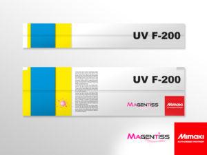 Cartouche d'encre UV flexible F-200 pour imprimante numérique de marque MIMAKI - Magentiss