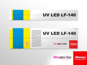 Cartouche d'encre UV LED LF-140 pour imprimante numérique de marque MIMAKI - Magentiss
