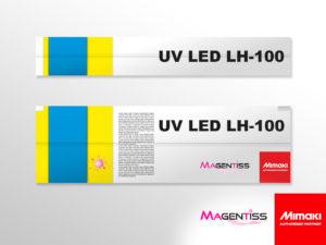 Cartouche d'encre UV LED LH-100 pour imprimante numérique de marque MIMAKI - Magentiss