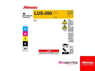 Magentiss : encre UV LUS-200 en bouteille de marque MIMAKI, contenance 1000 ml