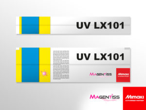 Cartouche d'encre UV LX101 latex pour imprimante numérique de marque MIMAKI - Magentiss