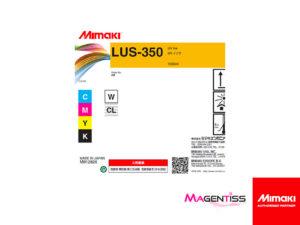 Magentiss : encre UV thermoformable LUS-350 en bouteille de marque MIMAKI, contenance 1000 ml
