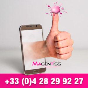 Magentiss : installation et maintenance d'outils de production des industries graphiques, contact téléphonique au 04 28 29 92 27