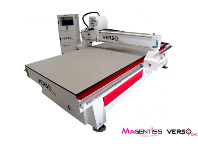 Table de découpe, fraiseuse, Verso CNC modèles 1325, 1630, 2030 et 2040 - Magentiss