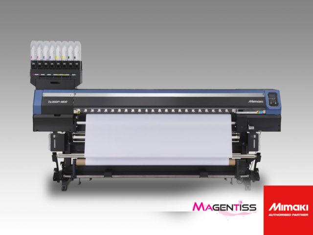 MIMAKI tx300p-1800 : imprimante numérique textile grand format - Magentiss