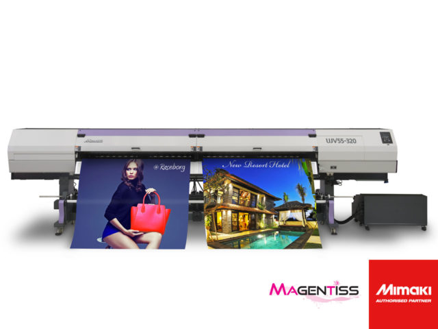 MIMAKI UJV55-320 : imprimante numérique chez Magentiss