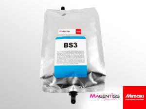 Poche d'encre solvant BS3 pour imprimante numérique de marque MIMAKI - Magentiss