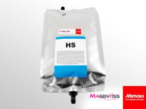 Poche d'encre solvant HS pour imprimante numérique de marque MIMAKI - Magentiss