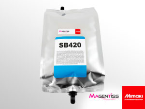 Poche d'encre sublimation SB420 pour imprimante numérique de marque MIMAKI - Magentiss